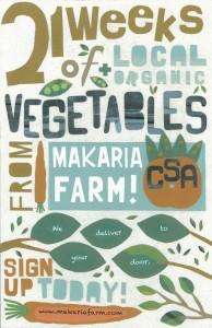 Makaria Farm CSA 2013