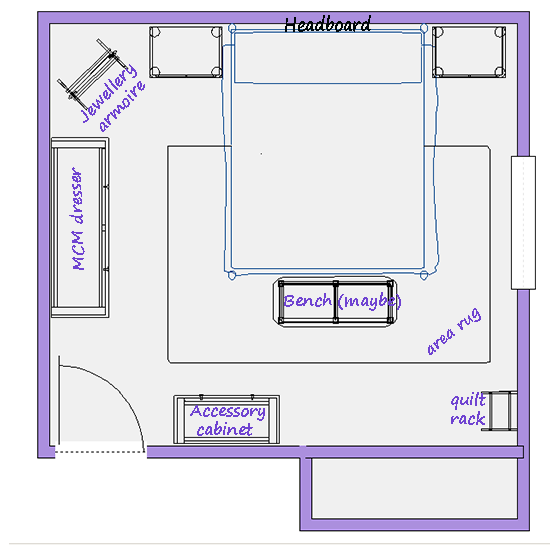 Floor Plan - Labelled Layout