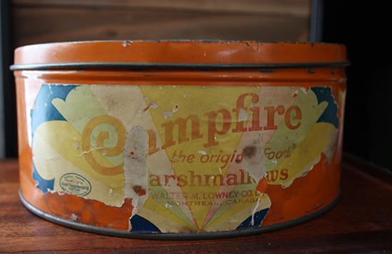 Vintage Lowney's Marshmallow Tin c1930-40s