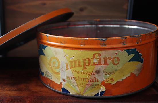 Vintage Lowrey's Marshmallow Tin c.1930-40