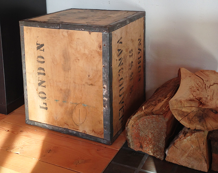 Vintage Tea Crate from London