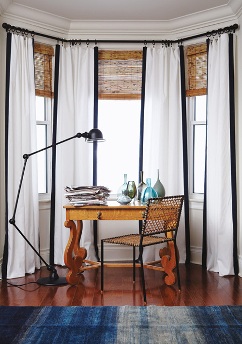 Floor-length Drapes - Canadian House & Home