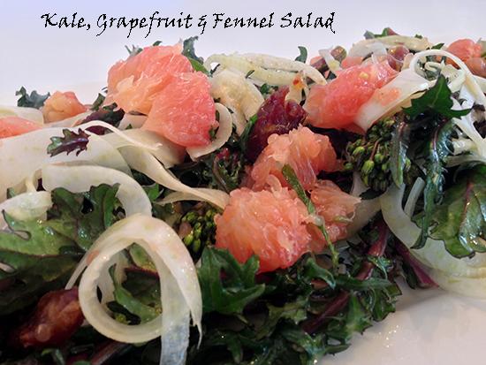 Fennel, Grapefruit & Makaria Farm Kale Sprouts!