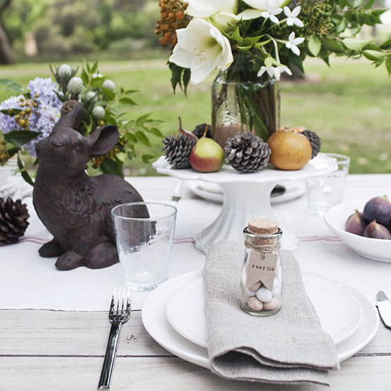 Easter table, Meghan Plowman Photograph