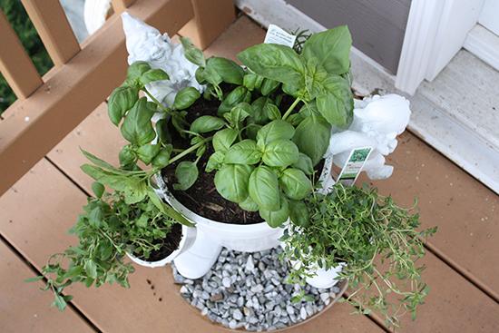 Garden Gnome Planter
