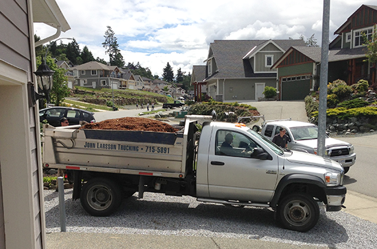 John Larsson Trucking - Mulch Delivery