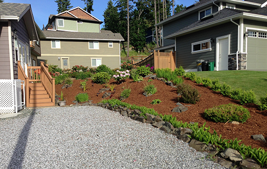 Landscaping with Garden Mulch