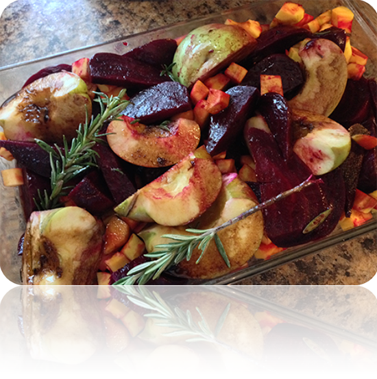 Roasted Balsamic Veggies
