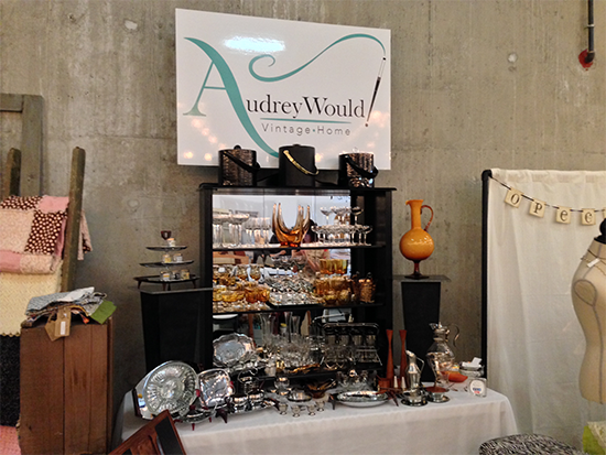 Audrey Would! at the Urban Market in Abbotsford - 2013