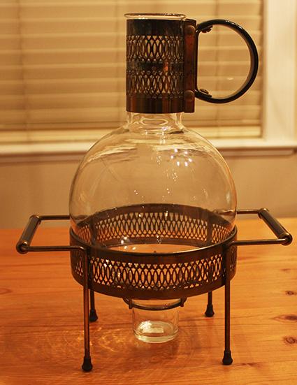 Art Deco Carafe & Warmer Stand - 425