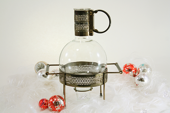 Art Deco Carafe & Warmer Stand - 550