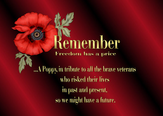 Pay it Forward - Remembrance Day