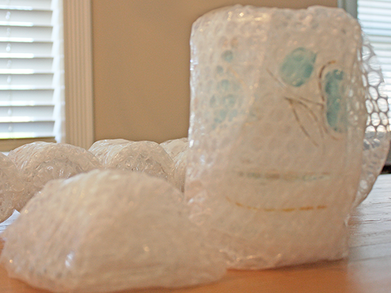 A Day in the Life of - Bubble Wrapped Items