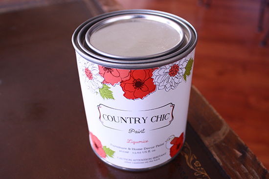 Country Chic 'Liquorice' Chalk Paint