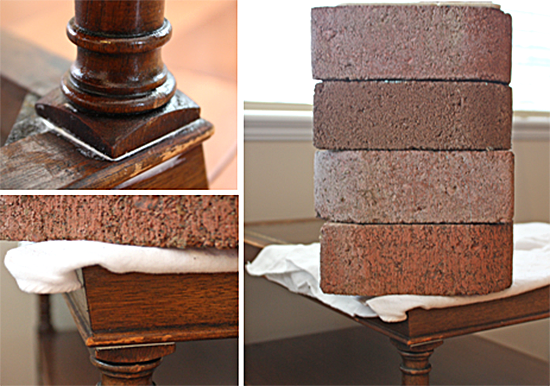 Leather Top End Table Repairs
