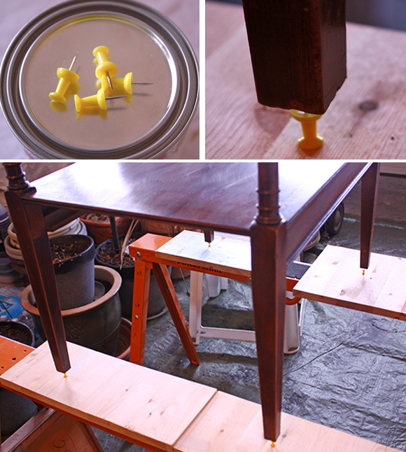 Leather_Top_End_Table_-_Painting_Prep_2