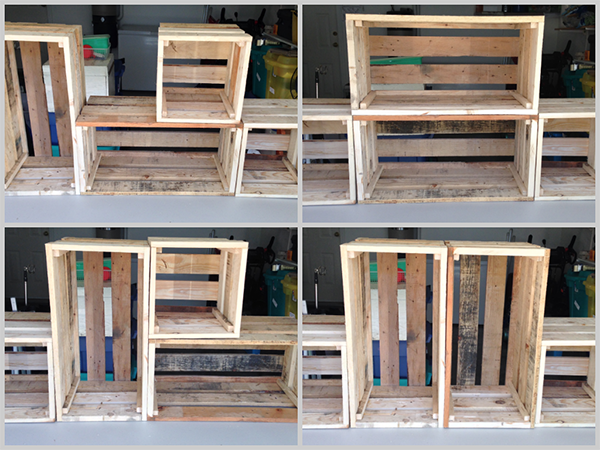 DIY Crates from Pallets