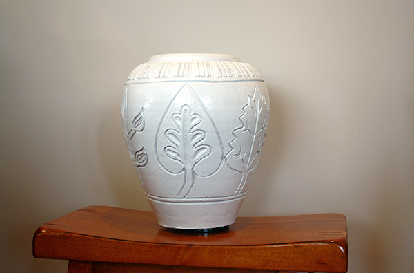 Faux MCM Vase - After
