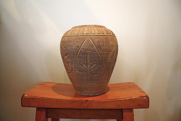 Faux MCM Vase - Before