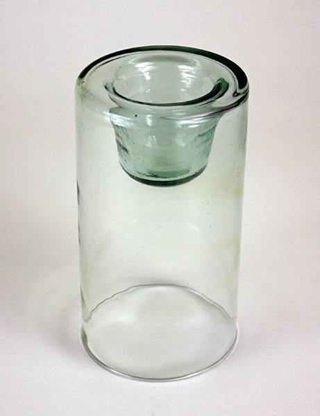 Chunky Glass Votive Holder