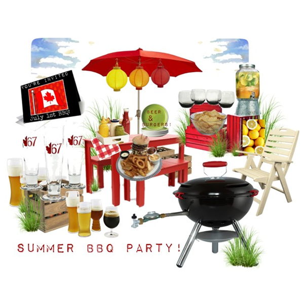 Summer BBQ Party - July 1st 600