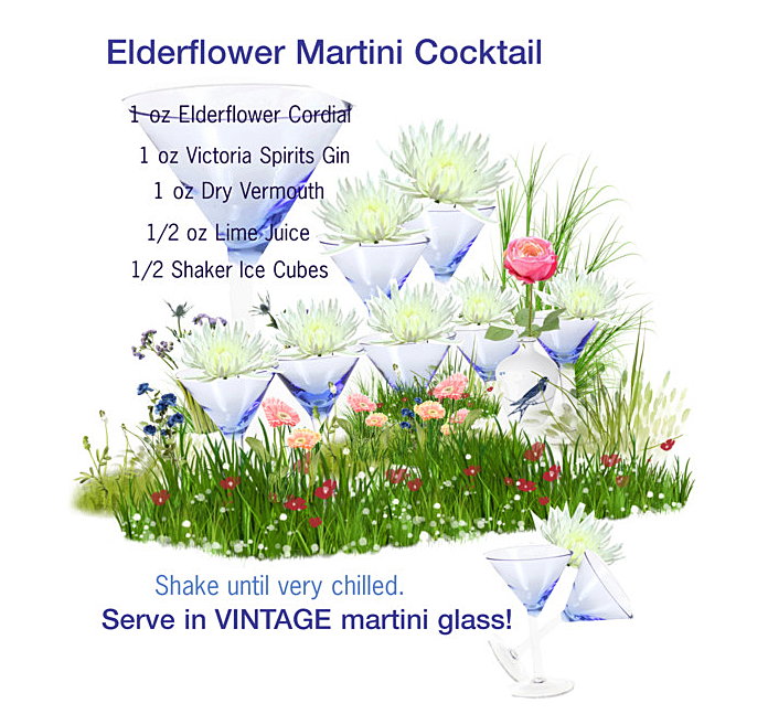 Elderflower Martini 697