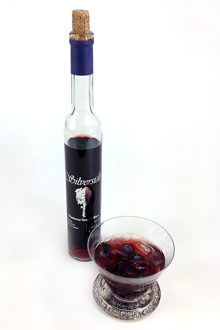 Silversides Blueberry Dessert Wine (1)