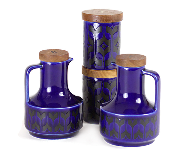 Hornsea S&P, O&V Caddy, Cobalt Blue