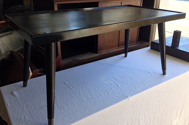 DIY Retro Table Makeover - After