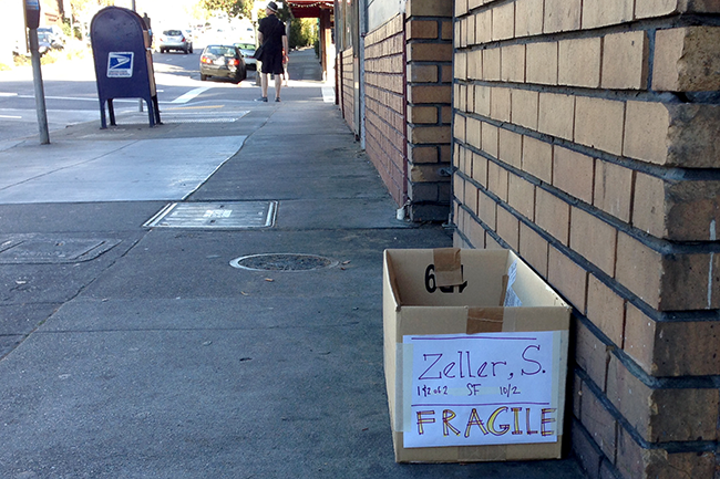 Zeller S - Box on SF Street