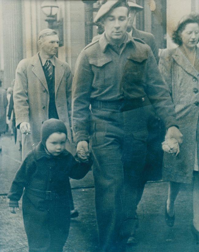 Granddad & Dad - Granville St Photos