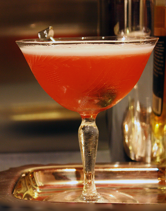 The Pink Lady: A Classic Cocktail for Valentine's Day!