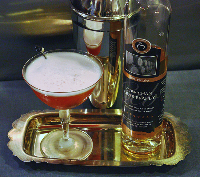 Pink Lady Cocktail, Audrey Would!