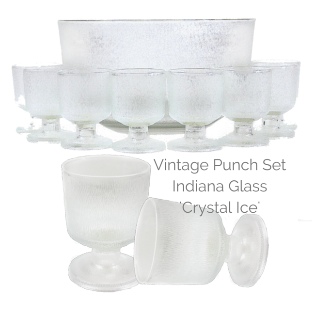 A vintage punch set with modern lines, perfect for today's lifestyle!