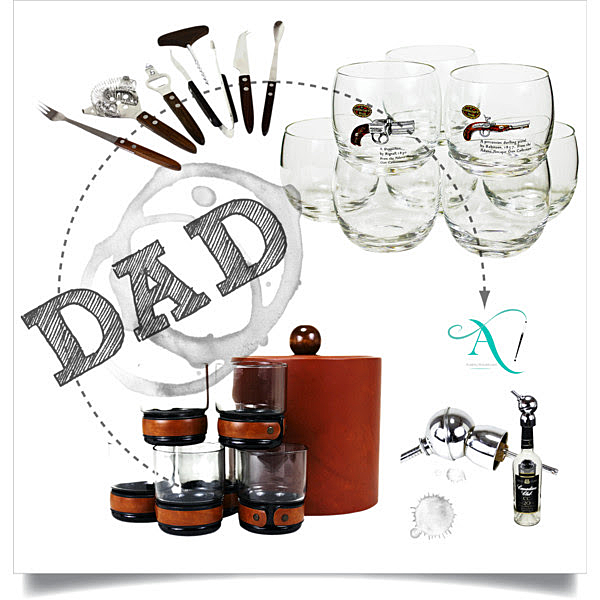 Fathers Day Gifts, Vintage Barware, Mid Century Modern Cocktail Gifts