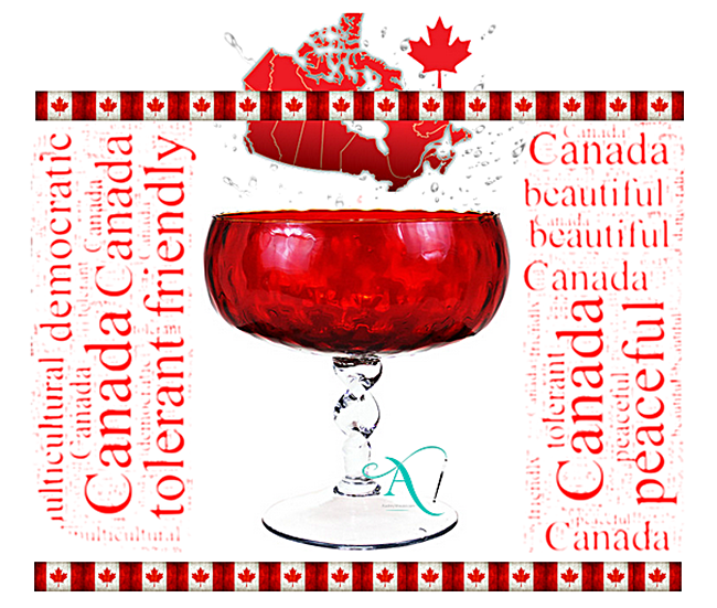 Audrey Would Vintage Home Celebrates Canada Day!