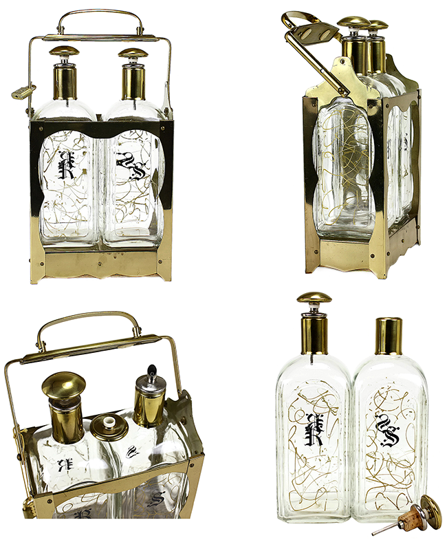 http://www.audreywould.com/collections/all/products/vintage-brass-tantalus-rye-scotch-locking-decanter-caddy
