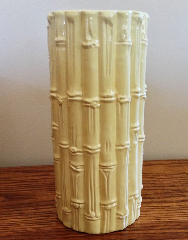 DIYing a Vase with a Hollywood Regency Look
