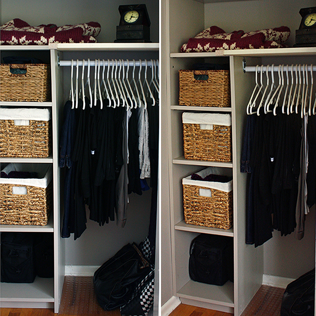 DIY Closet Touch-Ups. It's In the Details!