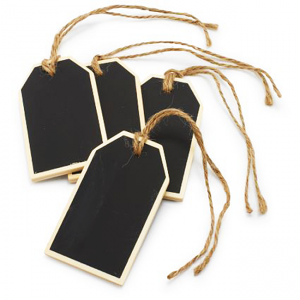 Chalkboard Hang Tags - Sur La Table